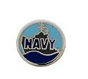 Navy - Enamel Charm